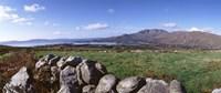 "UK, Ireland, Beara Peninsula, Rocks in front of Caha Mountains by Panoramic Images - 27"" x 9"" - $28.99"
