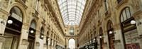 Interiors of a hotel, Galleria Vittorio Emanuele II, Milan, Italy Fine Art Print