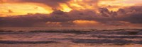 "Clouds over the ocean, Pacific Ocean, California, USA by Panoramic Images - 27"" x 9"""