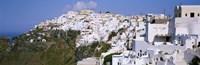 Buildings Houses Fira Santorini Greece