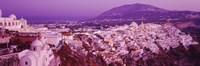 Fira at Dusk Santorini Greece