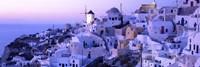 Evening Ia Santorini Greece