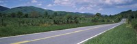 "Road passing through a landscape, Virginia State Route 231, Madison County, Virginia, USA by Panoramic Images - 27"" x 9"""