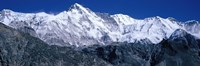 "Cho Oyu from Goyko Valley Khumbu Region Nepal by Panoramic Images - 27"" x 9"""