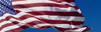 "Close-up of an American flag fluttering, USA by Panoramic Images - 27"" x 9"""