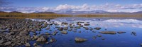 "Rocks and pebbles in a lake, Torne Lake, Lapland, Sweden by Panoramic Images - 27"" x 9"""