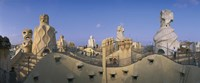 "Casa Mila Barcelona Spain by Panoramic Images - 27"" x 9"""