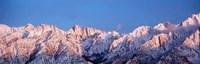 Snow Mt Whitney CA USA