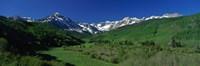 "San Juan Mountains CO USA by Panoramic Images - 27"" x 9"""