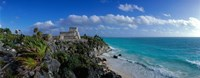 "El Castillo Tulum Mexico by Panoramic Images - 27"" x 10"""