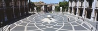 """High angle view of a town square, Piazza del Campidoglio, Rome, Lazio, Italy by Panoramic Images - 27"""" x 9"""""""