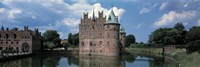 """Egeskov Castle Odense Denmark by Panoramic Images - 27"""" x 9"""""""