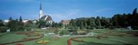 Gardens at Schonbrunn Palace Vienna Austria