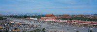 "Aerial view of Tiananmen Square Beijing China by Panoramic Images - 27"" x 9"""
