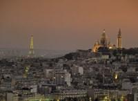 Eiffel Tower Sacred Heart Paris France