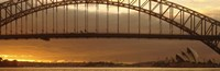 "Harbor Bridge Sydney Australia by Panoramic Images - 27"" x 9"""