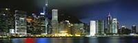 View From Wanchai, Central District, Hong Kong Fine Art Print