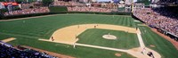 """Packed stadium at Wrigley Field, USA, Illinois, Chicago by Panoramic Images - 27"""" x 9"""""""