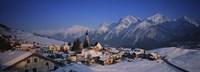 "Switzerland by Panoramic Images - 27"" x 9"""