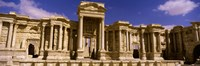 "Facade of a theater, Roman Theater, Palmyra, Syria by Panoramic Images - 27"" x 9"" - $28.99"