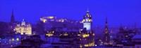 Evening, Royal Castle, Edinburgh, Scotland, United Kingdom Fine Art Print