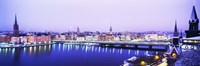 "Buildings In A City, Riddarholmen, Riddarholmen And The Old Town, Stockholm, Sweden by Panoramic Images - 27"" x 9"""