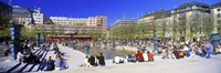 """Kungstradgarden Park, Stockholm, Sweden by Panoramic Images - 27"""" x 9"""" - $28.99"""