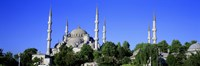 """Blue Mosque, Istanbul, Turkey by Panoramic Images - 27"""" x 9"""""""