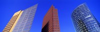 """Buildings, Berlin, Germany by Panoramic Images - 27"""" x 9"""", FulcrumGallery.com brand"""