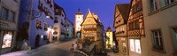"""Germany, Rothenburg ob der Tauber by Panoramic Images - 27"""" x 9"""", FulcrumGallery.com brand"""