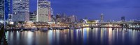 """Darling Harbor, Sydney, Australia by Panoramic Images - 27"""" x 9"""""""