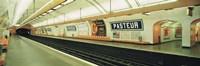 Metro Station Paris France