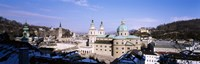 """Dome Salzburg Austria by Panoramic Images - 27"""" x 9"""""""