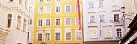 "Austria, Salzburg, Mozart's Birthplace, Low angle view of the apartments by Panoramic Images - 27"" x 9"" - $28.99"