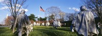 "Korean Veterans Memorial Washington DC USA by Panoramic Images - 27"" x 9"""