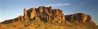 """Superstition Mountains, Arizona, USA by Panoramic Images - 27"""" x 8"""""""