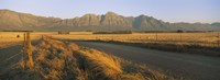"Road running through a farm, South Africa by Panoramic Images - 27"" x 9"", FulcrumGallery.com brand"