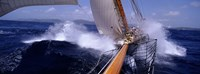 """Yacht Race, Caribbean by Panoramic Images - 27"""" x 9"""""""