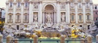 Trevi Fountain Rome Italy Fine Art Print