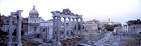 """Roman Forum Rome Italy by Panoramic Images - 27"""" x 9"""""""