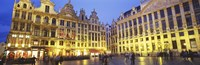 """Grand Place, Brussels, Belgium by Panoramic Images - 27"""" x 9"""", FulcrumGallery.com brand"""