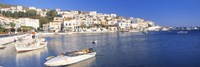 """Andros, Cyclades, Greece by Panoramic Images - 27"""" x 9"""", FulcrumGallery.com brand"""