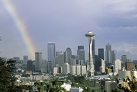"""Rainbow Seattle WA by Panoramic Images - 27"""" x 9"""" - $28.99"""