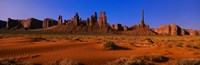 "Monument Valley National Park, Arizona, USA by Panoramic Images - 27"" x 9"""