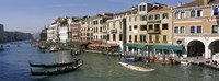 """View of the Grand Canal, Venice Italy by Panoramic Images - 27"""" x 9"""""""