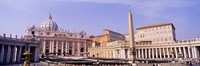 Vatican, St Peters Square, Rome, Italy Fine Art Print