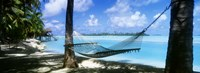 """Cook Islands South Pacific by Panoramic Images - 27"""" x 9"""""""