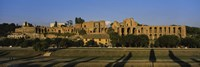 """Old ruins of a building, Roman Forum, Rome, Italy by Panoramic Images - 27"""" x 9"""""""