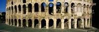 """Colosseum Rome Italy by Panoramic Images - 27"""" x 9"""""""