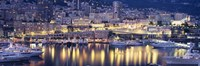 "Harbor Monte Carlo Monaco by Panoramic Images - 27"" x 9"""